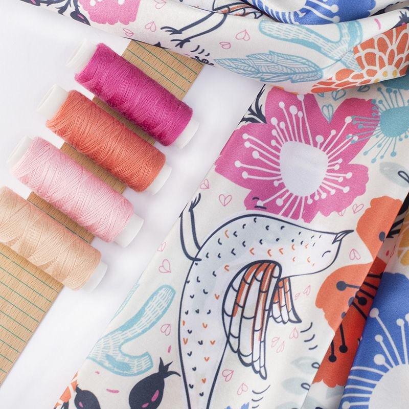 Impresión textil en Tafetán