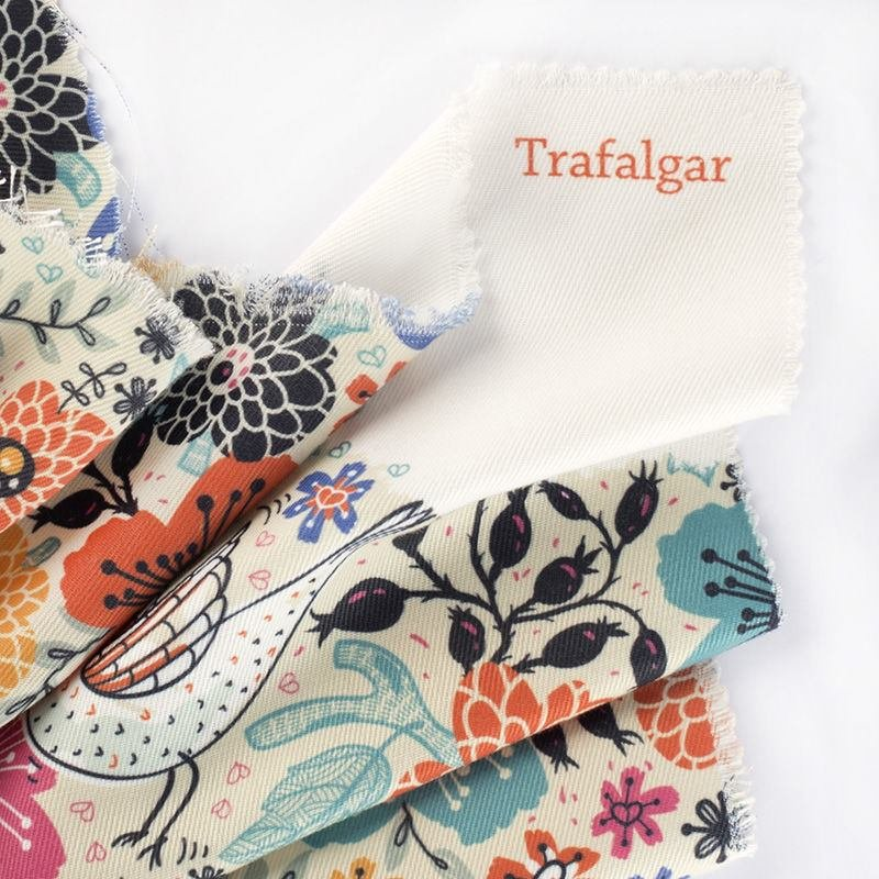 Trafalgar weave pattern Printing