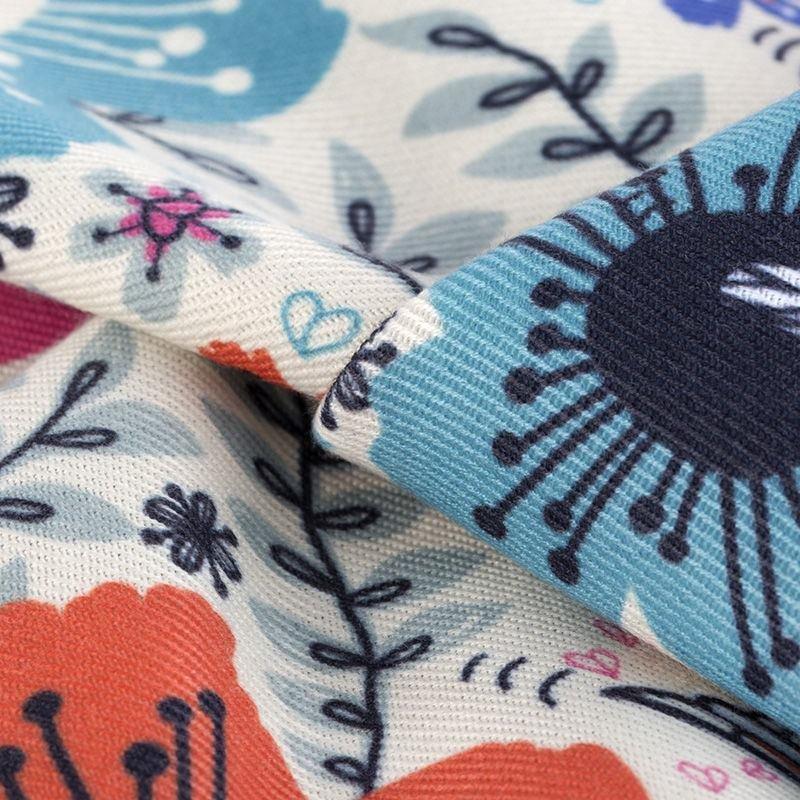 トラファルガー・ツイル 布 印刷