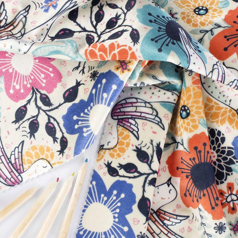 velvet shimmer fabric