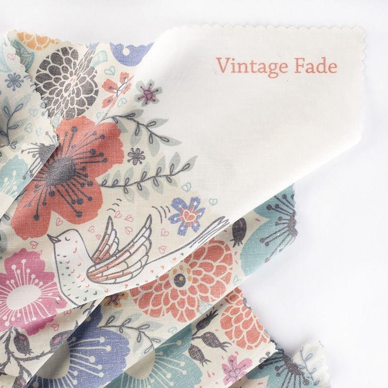 print Vintage Fade fabric test print