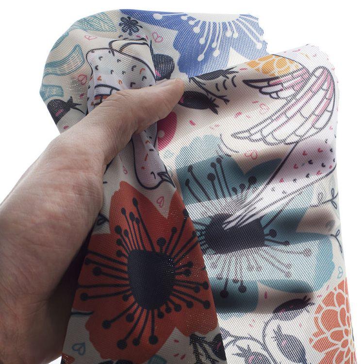 printed voile fabric ireland