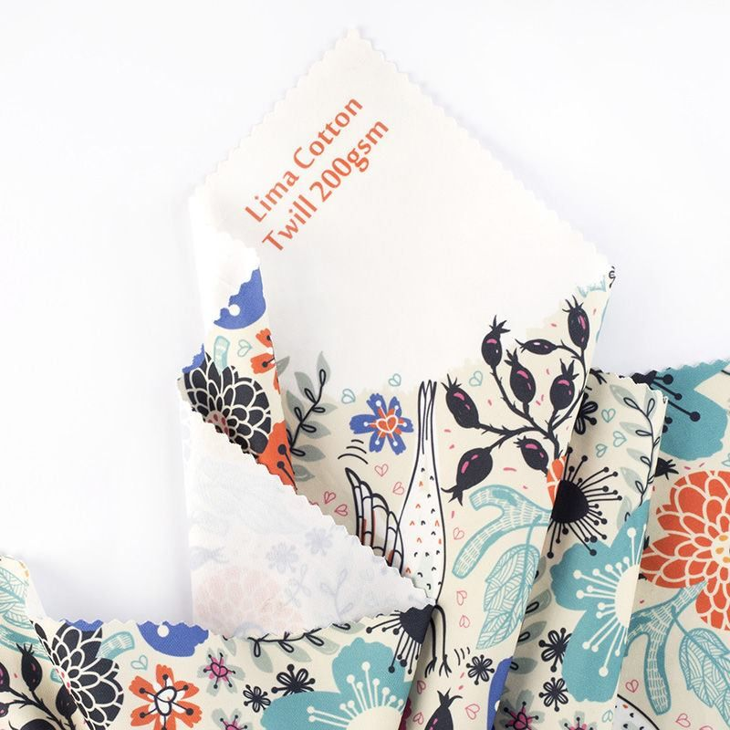 print Lima Cotton Twill fabric