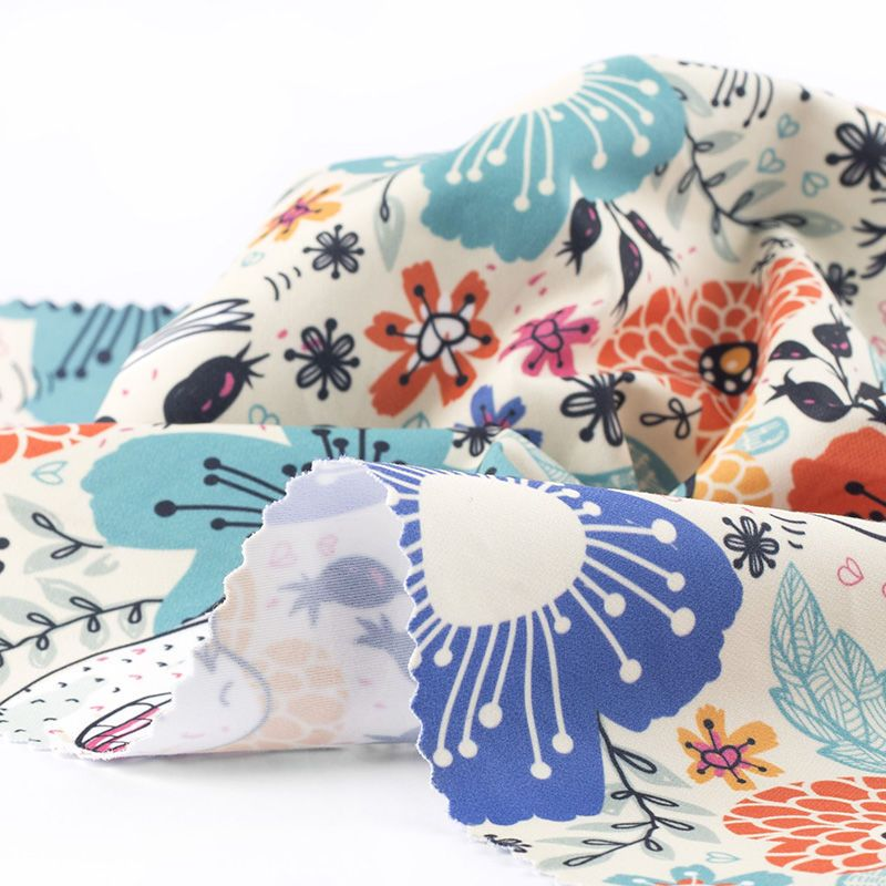 Lima Cotton Twill fabric digital print