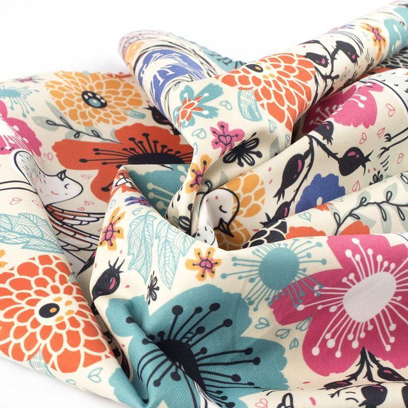 custom print Lima Cotton Twill fabric