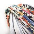 auf Loopback Sweater Jersey Stoff drucken
