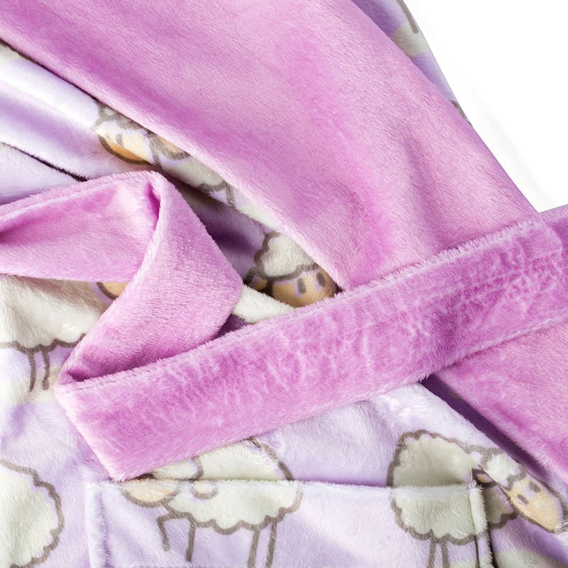 plush velvet dressing gown