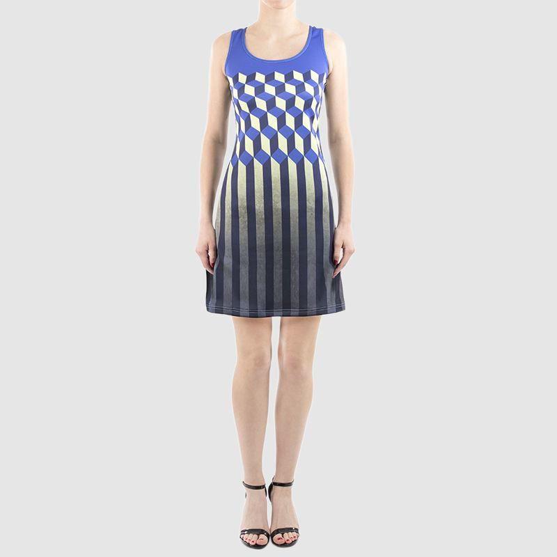 neoprene dress photo print