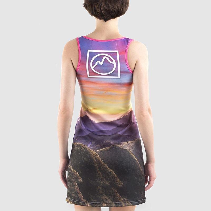 personalisiertes Scuba-Kleid mit Print