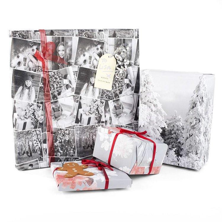 Tryck presentpapper med dina foton