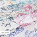 Custom lace fabric