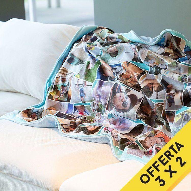 coperta in pile personalizzata