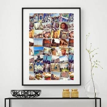 Poster photomontage
