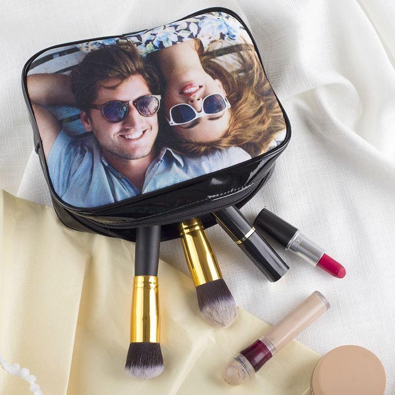 Personalised Makeup Bag Photo