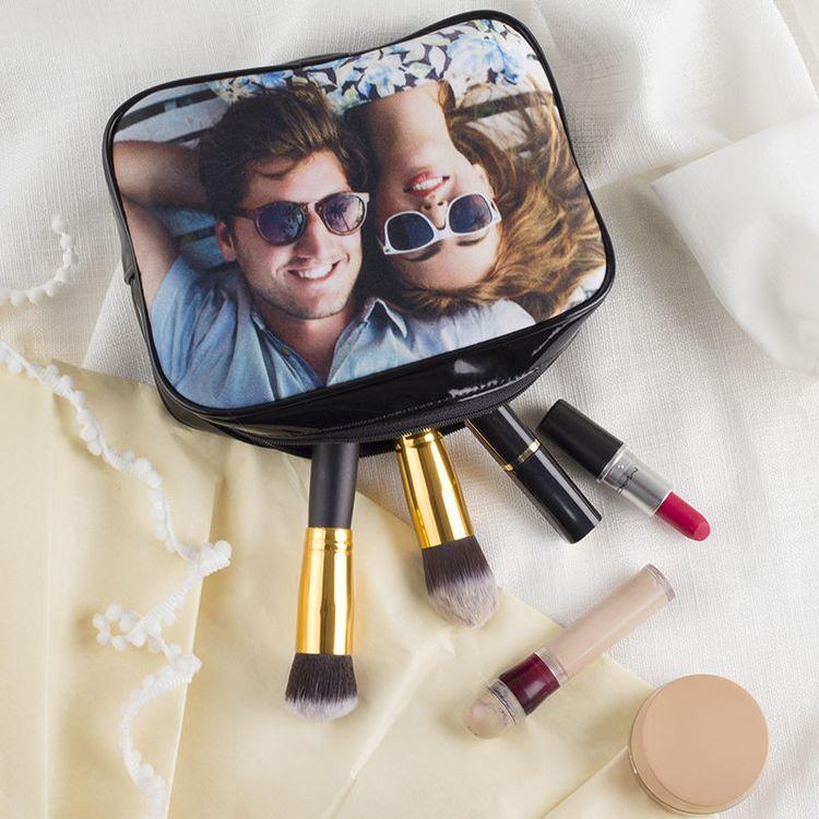 make-up tas met fotoprint