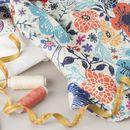 Sara inblandad textil med digitaltryck
