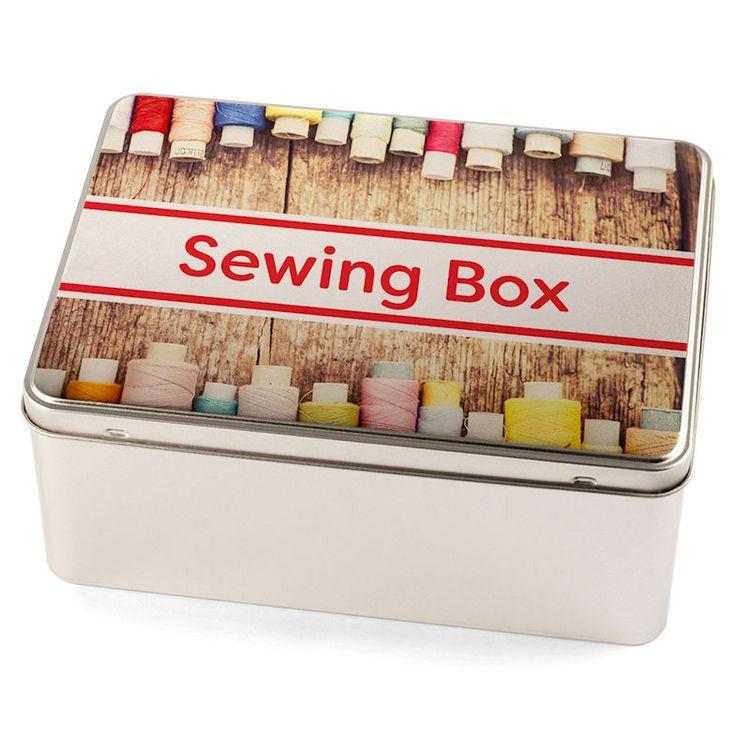 オリジナル裁縫セット収納箱 メッセージプリント