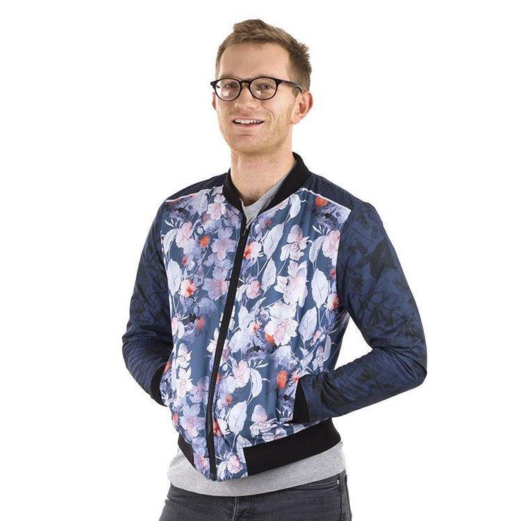 Waterproof personalised bomber jacket