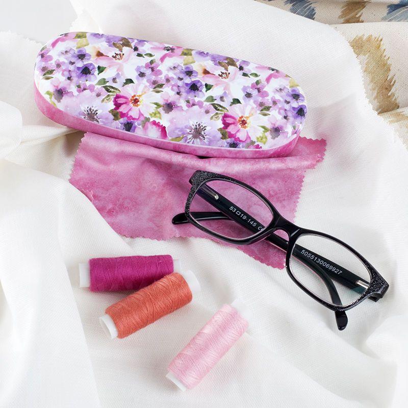 Vente grande vente de liquidation nouveau style Etui à lunettes rigide personnalisé, impression sur étui à lunettes