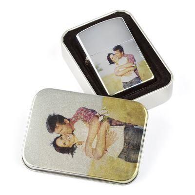 custom printed personalised lighter valentine's day gift