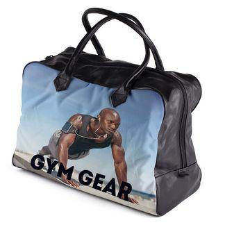 personalised gym bag custom made to order