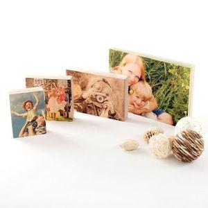 impresión de madera con foto