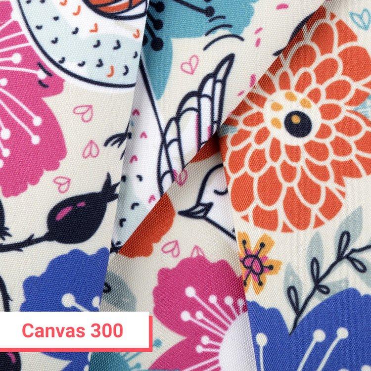 bedrukte canvas stof 300 g/m²