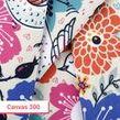printable canvas fabric 300 gsm