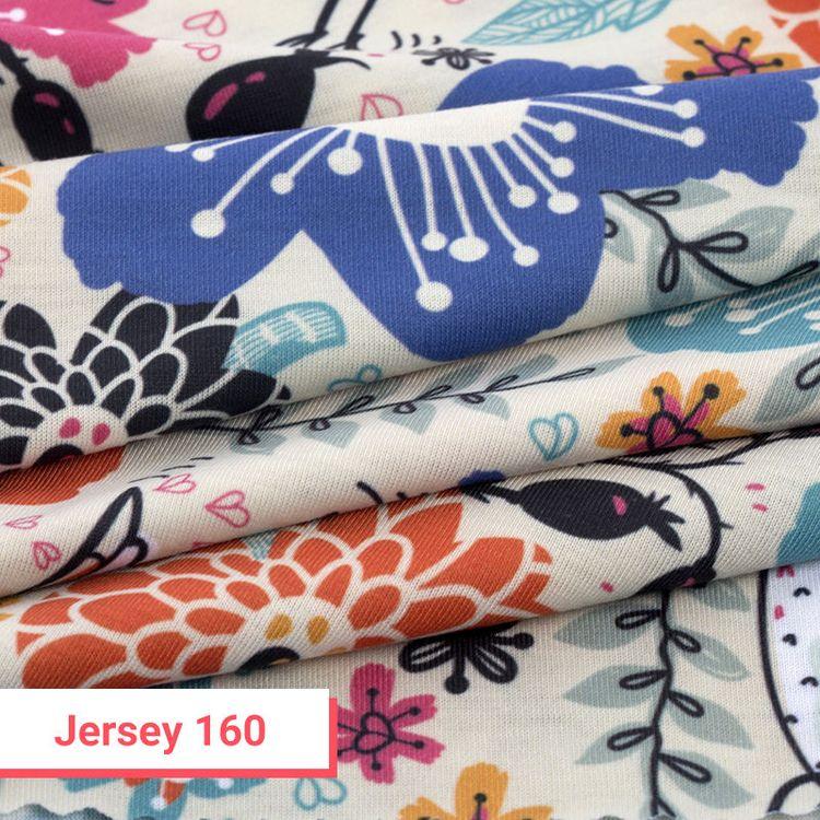 Jersey stampato con le tue immagini 160