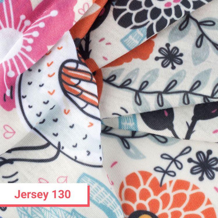 Tissu jersey imprimé 130