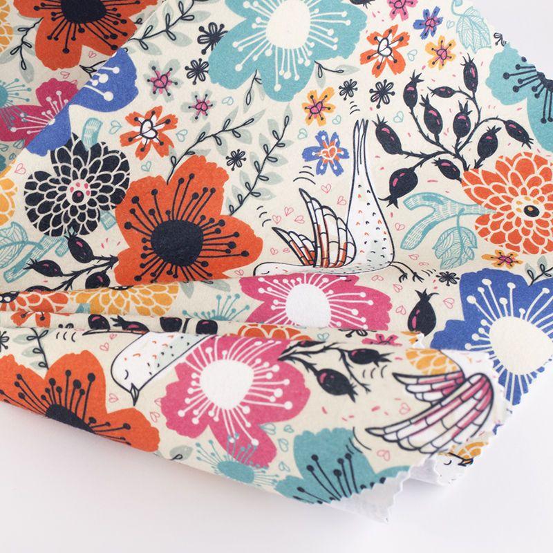 buy printed Felt fabric