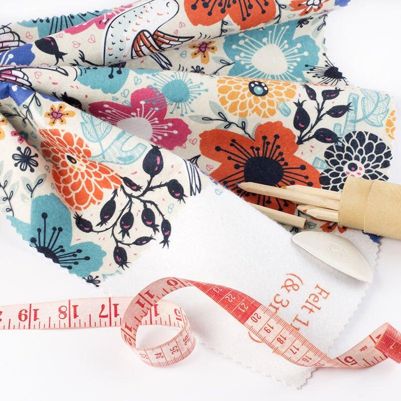 Felts Printing Fabric textile