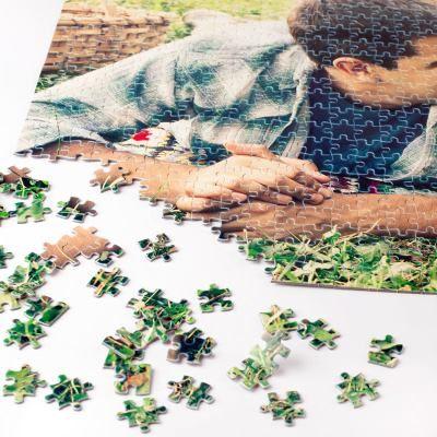 puzzle navideño
