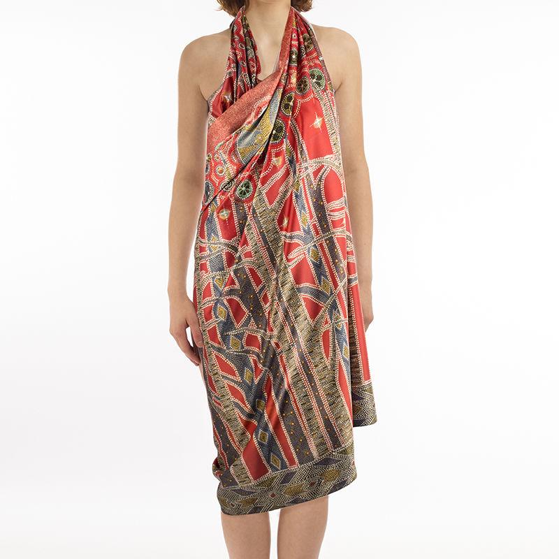 Beach Wrap Cover Up Dress
