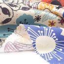 絹 サテン デジタルプリント