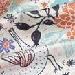 polyester silk impression shiny fabric