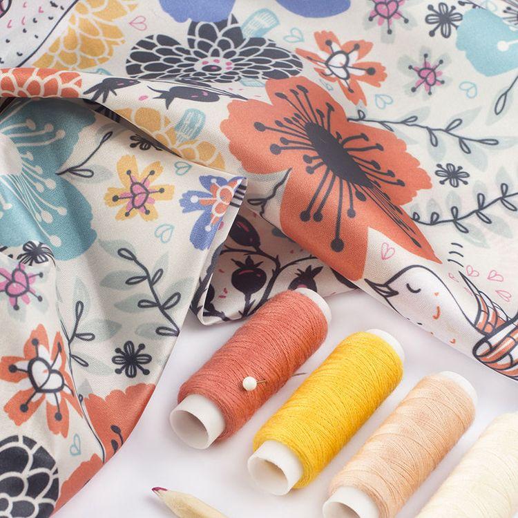 customised cushion fabric