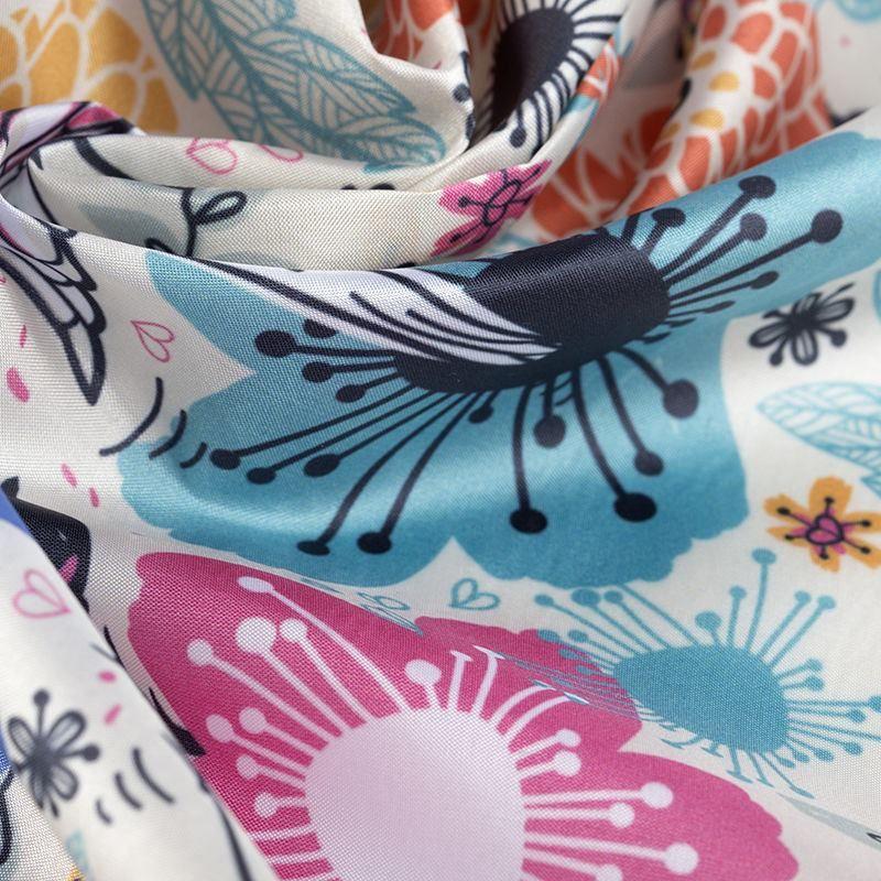 printing shiny Silk Impression fabric