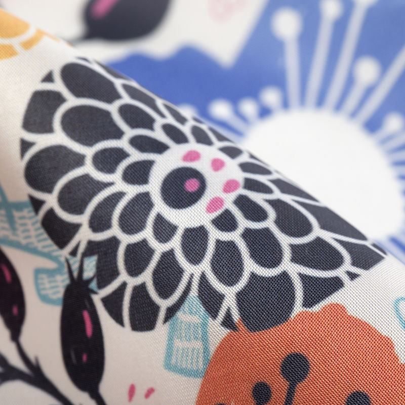 custom print Silk Impression fabric