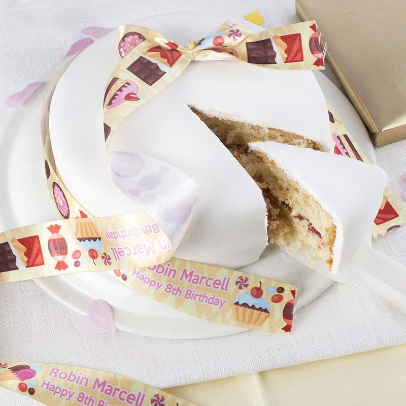 26a5c36dda7ec ... Personalized Cake Ribbon ...