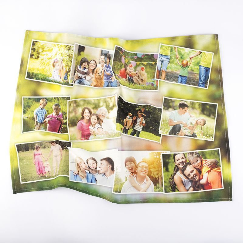 Photo Tea Towels family montage
