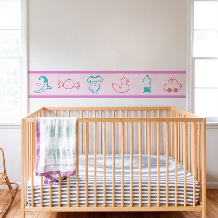Custom Wallpaper Border nursery