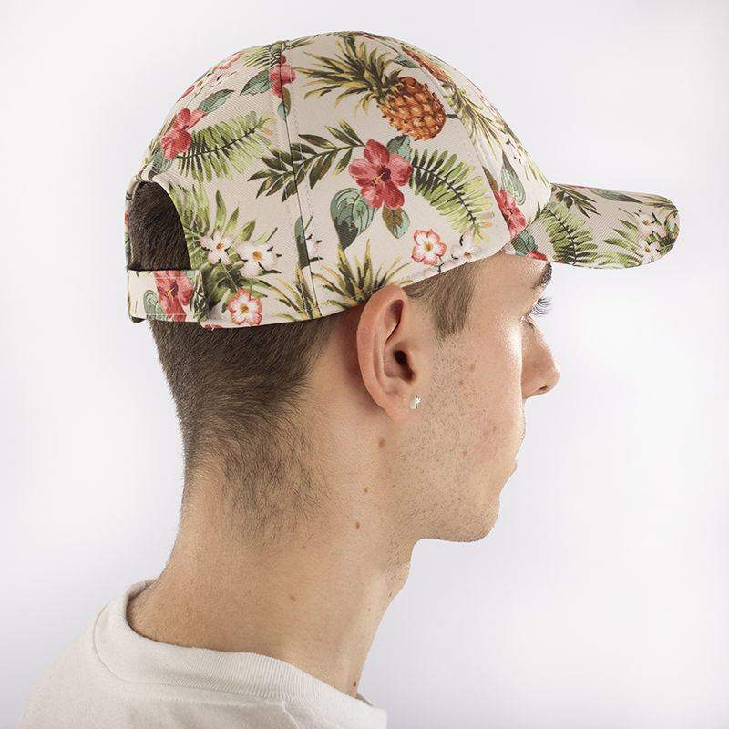 peak cap customise printed fabric velcro f6919a09e332