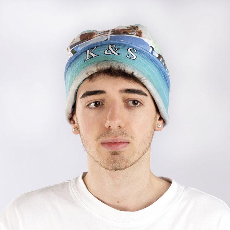 オリジナルビーニー帽