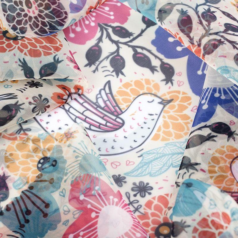 custom made Voile fabric on demand
