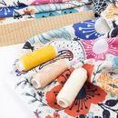 Slinky Matt Lycra Fabric Printing lifestyle print swatch