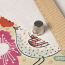 オーガニック コットン 布印刷