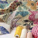 Impression sur coton panama