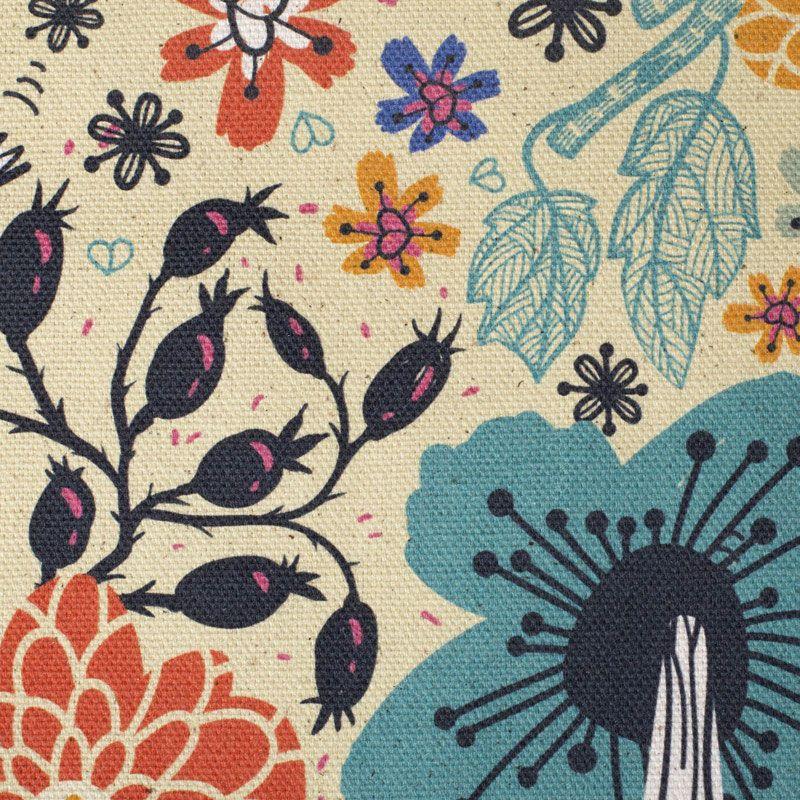 Imprime diseños en algodón ecológico
