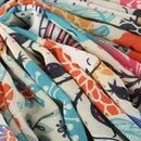 Sublimación textil en crepe georgette